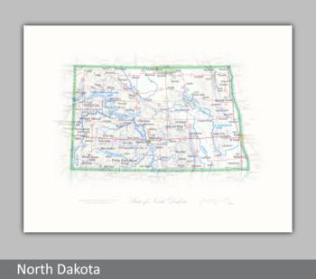 Image State of North Dakota