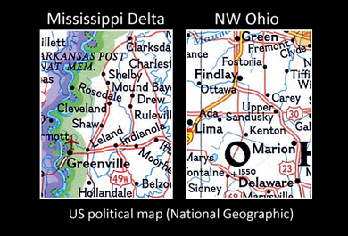 Map Of The USA Geographic Maps - Us map states only